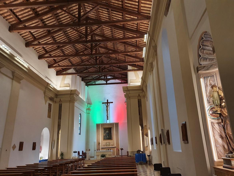 "DUOMO DEI MILITARI<font face=""Verdana, Arial, Helvetica, sans-serif"" size=""2"">Chiesa di San Prosdocimo Padova 2020</font>"